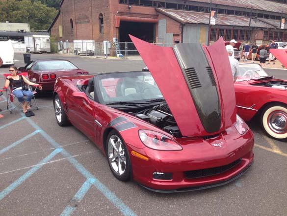 Corvettes at the Bethlehem SteelStacks