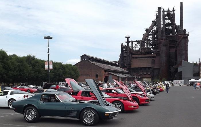 [GALLERY] Corvettes at the Bethlehem SteelStacks (58 Corvette photos)