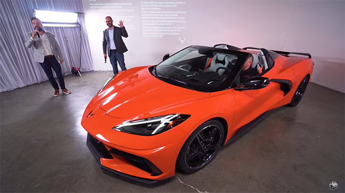 [VIDEO] Watch the West Coast Reveal of the 2020 Corvette Stingray Convertible