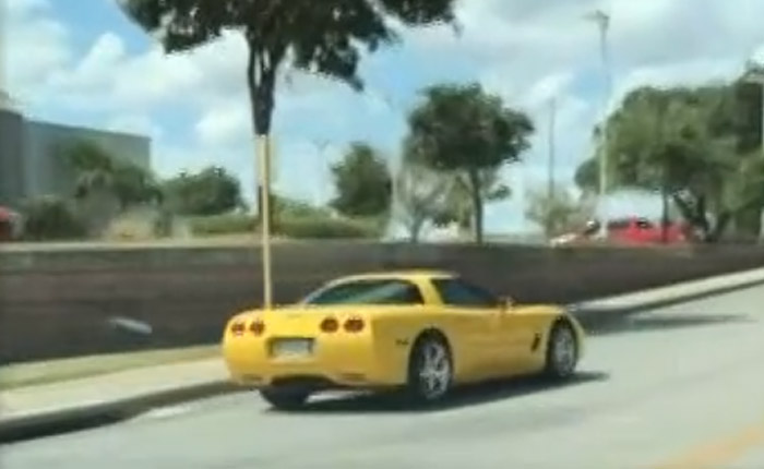 [VIDEO] Police Called for Reckless Corvette Driver After Woman Records His Erratic Driving
