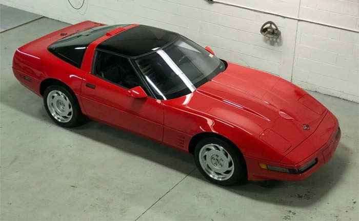 Corvettes on eBay: Brand New 1991 Corvette ZR-1 Sells for $40,000