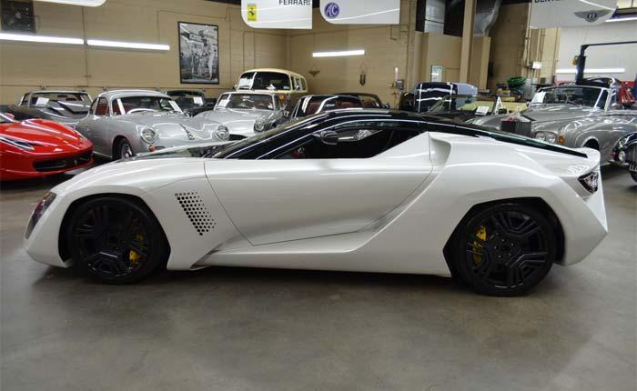 Corvettes for Sale: The Return of the 2009 Corvette ZR1-based Bertone Mantide