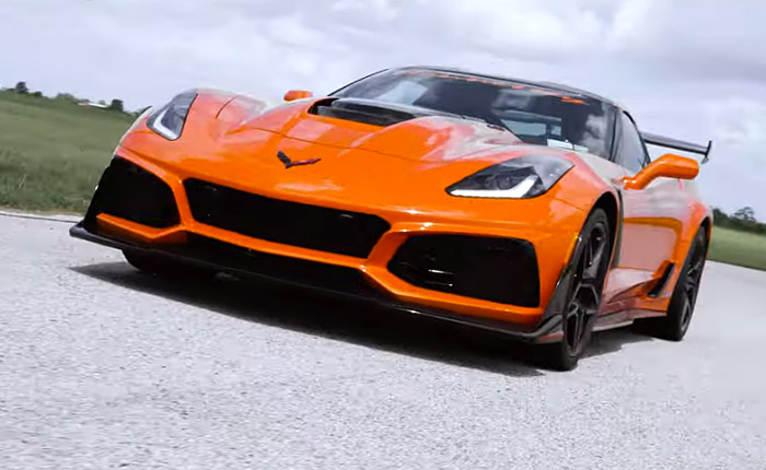 [VIDEO] Hennessey's HPE1200 C7 Corvette ZR1 on the Pennzoil Proving Grounds