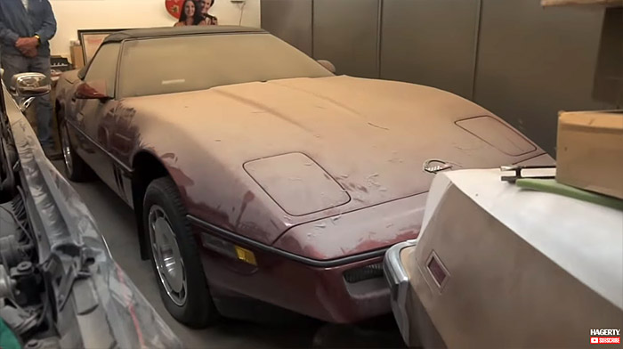 [VIDEO] Barn Finder Tom Cotter Uncovers a 1986 Corvette Convertible