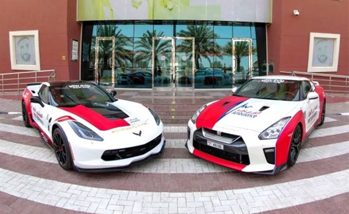 [PICS] Dubai Ambulance Service Receives a New Corvette Grand Sport for First Reponders