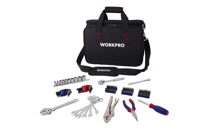 [AMAZON] Save 50% on the WORKPRO 143-Piece Home Repair Tool Kit
