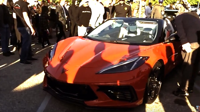 [VIDEO] 2020 Corvette Stingray Convertible Disrupts Supercar Sunday