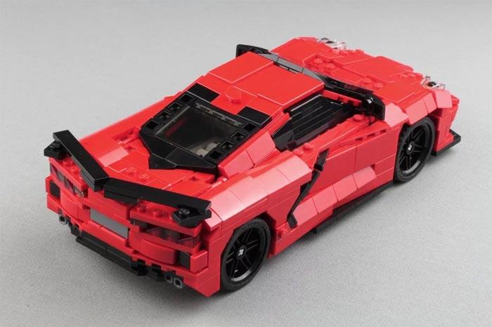 Lego C8 Corvette