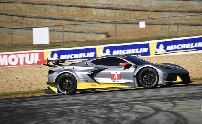 [VIDEO] Corvette C8.R Takes the Track at Petit Le Mans
