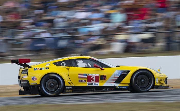 Corvette Racing at Petit Le Mans: Tough Fight to Close C7.R Era