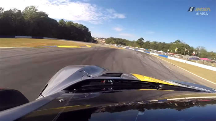 [VIDEO] On-Board Camera Captures the Corvette C8.Rs Hot Lap at Road Atlanta