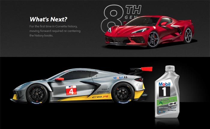 Celebrate the Next Generation of Corvette with Mobil 1's What's Next? Sweepstakes