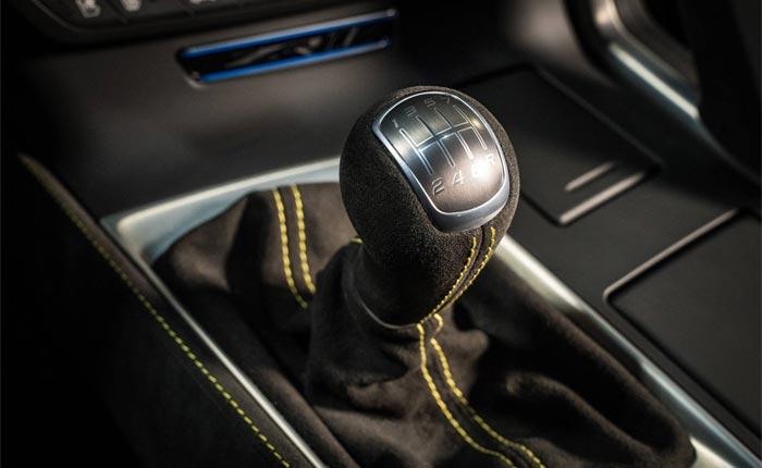 C7 Corvette's Manual Stick Shift