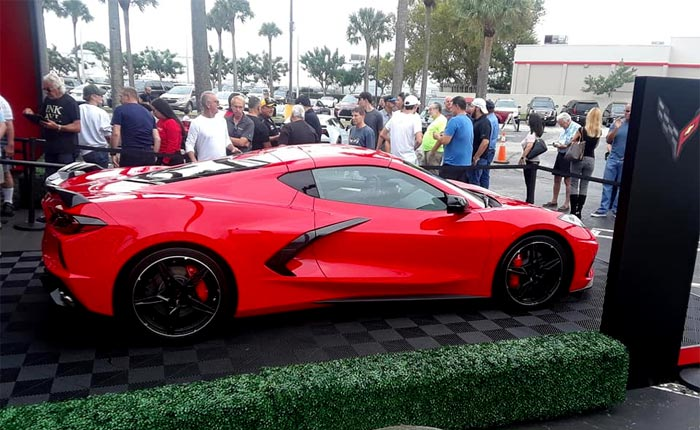 [VIDEO] Nearly 3,500 Enthusiasts Visit Bomnin Corvette to see the 2020 Corvette Stingray Coupe and Convertible