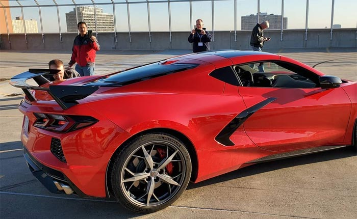 [PICS] High Wing and Hash Marks Featured on This 2020 Corvette Stingray