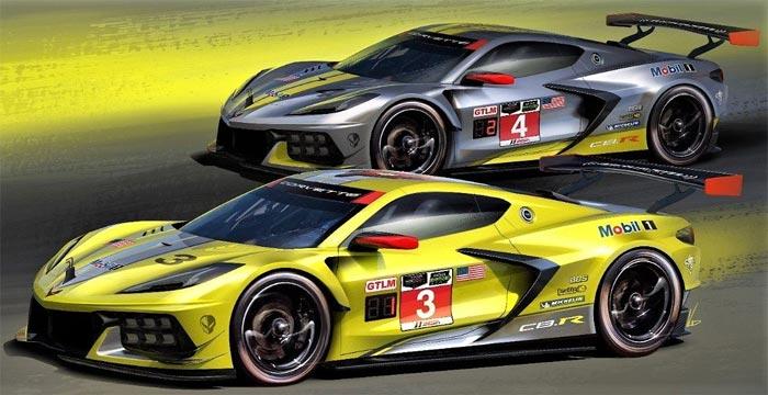 Corvette C8.R Racers