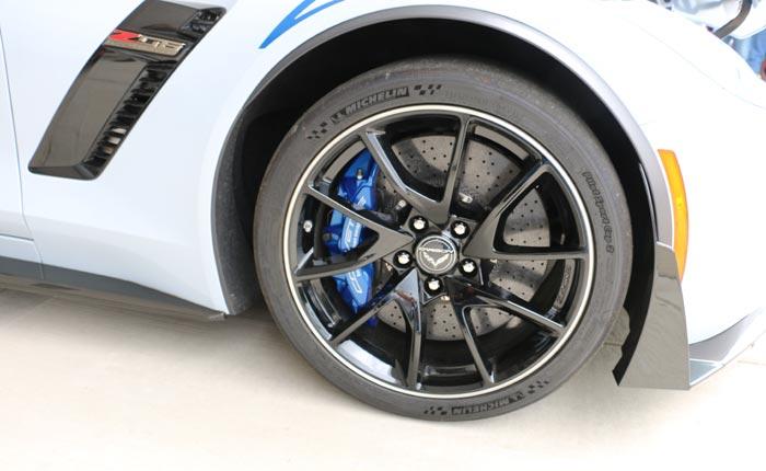 Black Wheels for the C7 Corvette