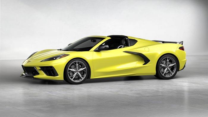 Accelerate Yellow Is The 2020 Corvette Stingray S Unicorn