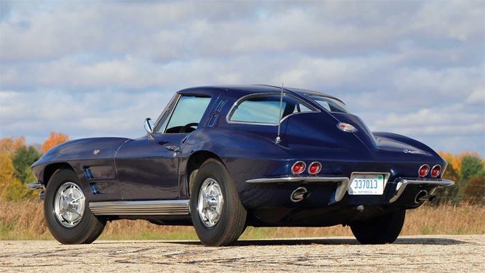 Test Lab 61 1963 Corvette Heading to Mecum Kissimmee