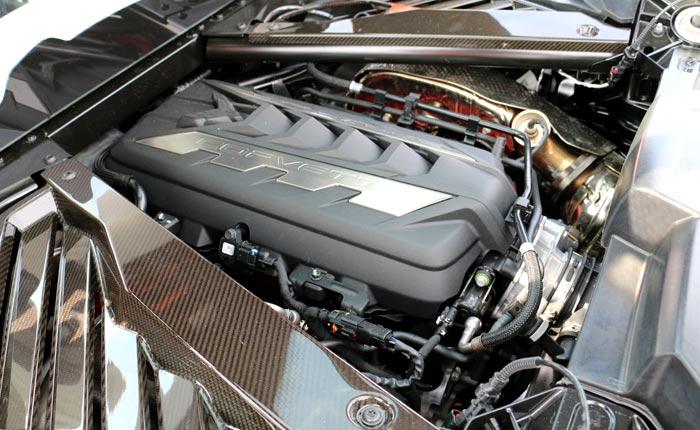 C8 Corvette's LT2 V8
