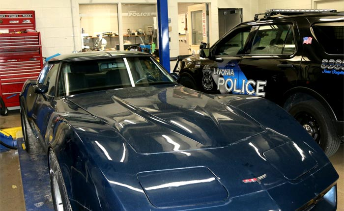 [STOLEN] Michigan Police Recover a 1981 Corvette Stolen 38 Years Ago