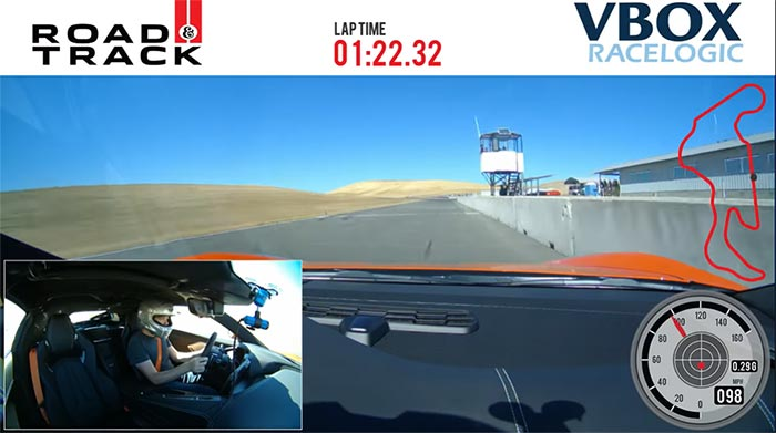 [VIDEO] 2020 Corvette Stingray Track Attack at Thunderhill