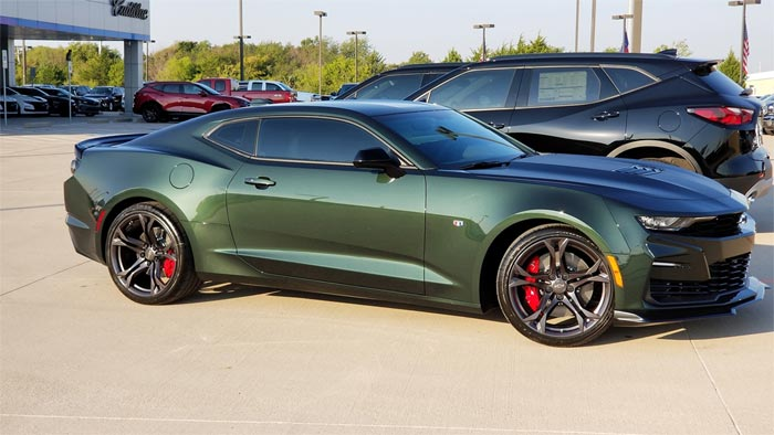 Colors We'd Like to See on the C8 Corvette: Rally Green Metallic