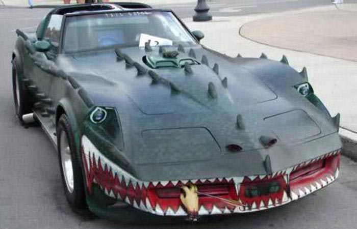 [GALLERY] These Scary Corvettes Will Put Some Fright into Your Halloween