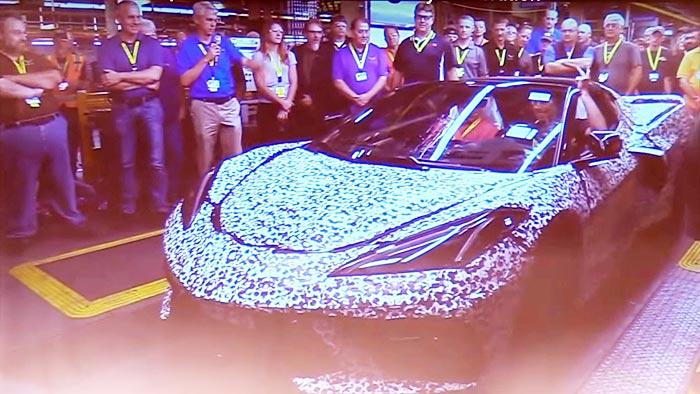2020 C8 Corvette Production Process Explained