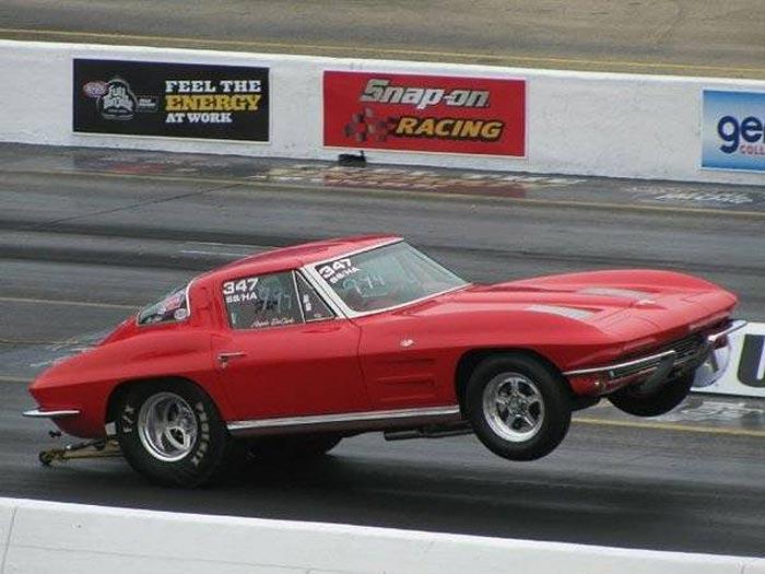 Corvettes on Craigslist: Former 'Ault and James' 1963 Corvette Sting Ray Drag Racer