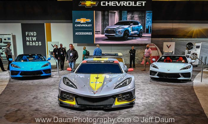 [GALLERY] The 2020 Corvette Stingrays and the C8.R on Display at SEMA (17 Corvette photos)