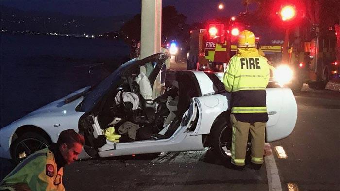 [ACCIDENT] C5 Corvette Driver Injured in New Zealand Crash