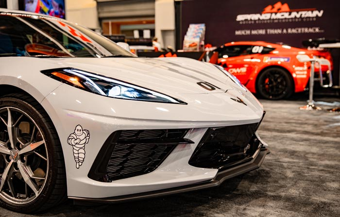 [PICS] 2020 Corvette Stingray Shown at Spring Mountain's SEMA Display