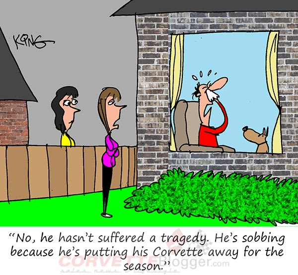 Saturday Morning Corvette Comic: It's That Time of Year When Grown Men Cry