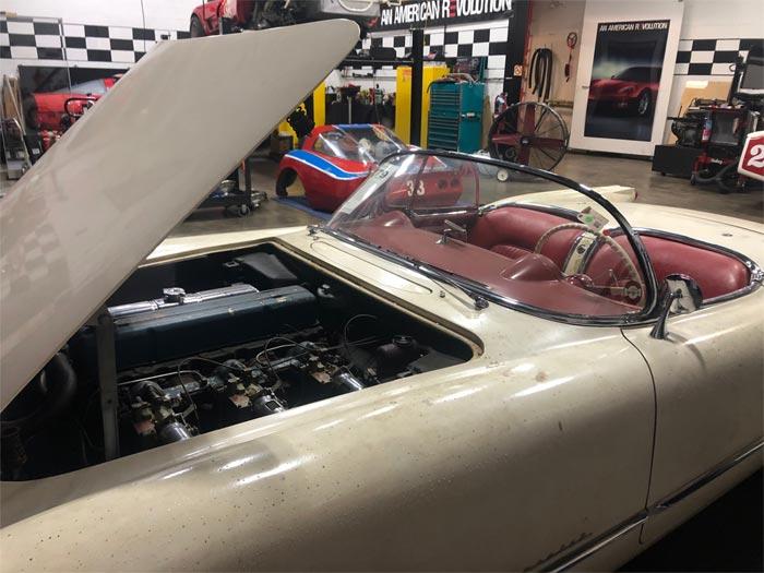1954 'Entombed' Corvette