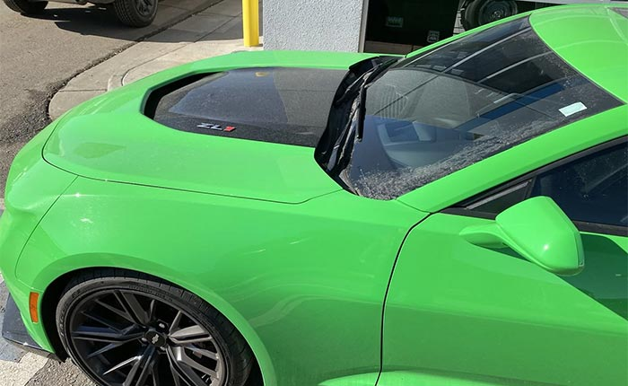 Krypton Green Camaro
