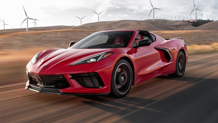 2020 Corvette Stingray is a finalist for Motor Trend's Car of the Year