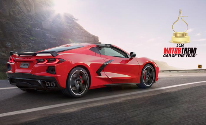 Chevrolet Celebrates MotorTrend Award with a Rare Newspaper Ad for the Corvette