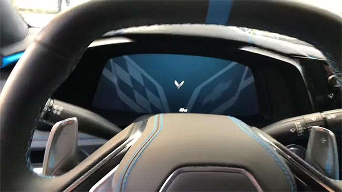 [VIDEO] Watch the 2020 Corvette's Start-Up Screen, Driver Modes and Listen to Some Engine Revs