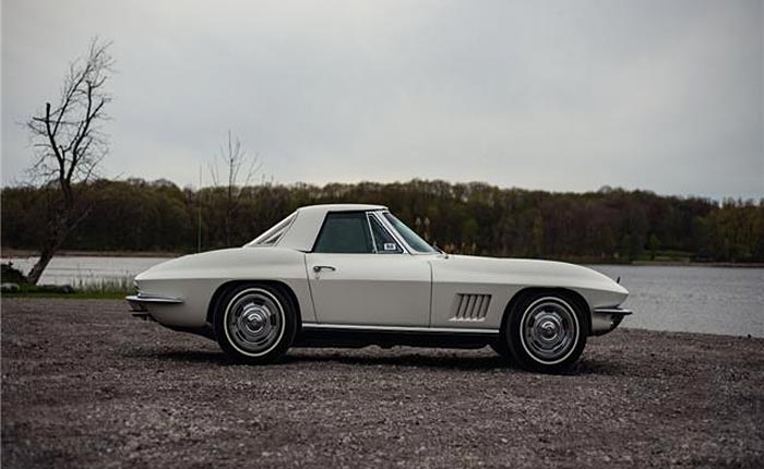 Corvettes on eBay: Nino's 1967 327/350 Corvette Sting Ray Convertible