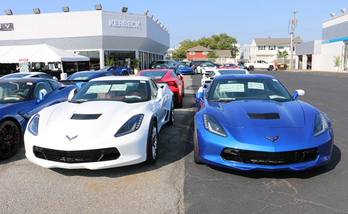 National Corvette Inventory Drops to 5,025 Cars with a 122 Day Supply