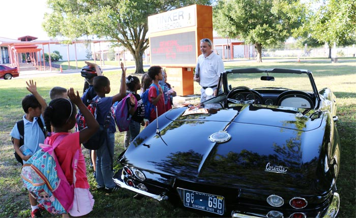 CorvetteBlogger Goes Back to School for the Great American Teach-In