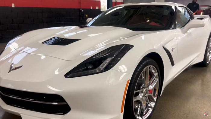 Last C7 Corvette Stingray Donated to the National Corvette Museum