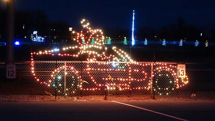 Wendy's Twinkle at the Track Features 350 Displays and 1 Million Lights
