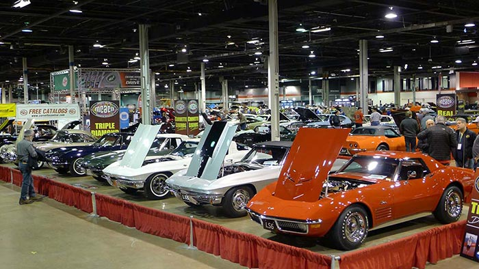 [PICS] Corvettes Shine at the Muscle Car and Corvette Nationals