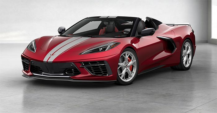 2020 Corvette Stingray Convertible is Now Up on the Chevrolet Build and Price Configurator