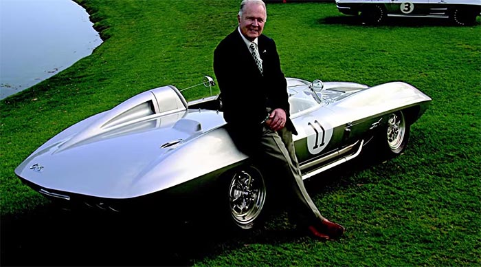 Peter Brock and the 1959 Corvette Racer