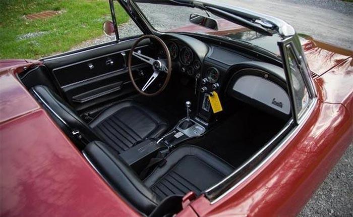 1967 Corvette Interior