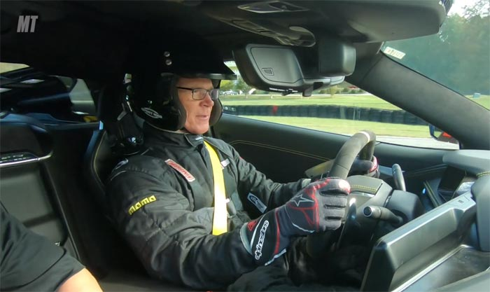Randy Pobst Drives the C7 and C8 Corvettes at VIR for MotorTrend