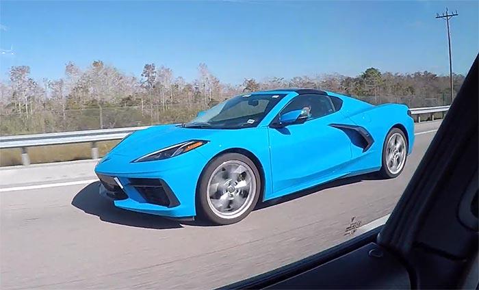 [SPIED] Rapid Blue 2020 Corvette Coupe in Naples, FL